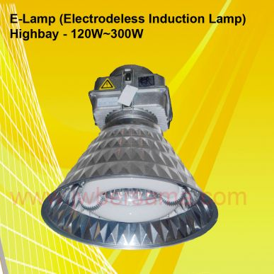 Lampu Induksi <i> High Bay </i> 120 Watt  300 Watt