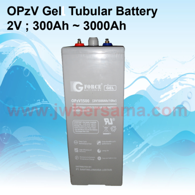 BATTERY  OPzV Gel Tubular 2V 300Ah  3000Ah