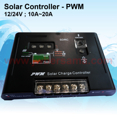 Solar Charge Controller PWM 10A  20A controller sdrc